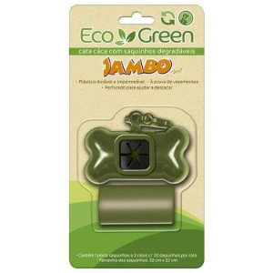 Kit Cata Caca Eco Green - Degradável