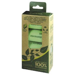 Saquinhos Higiênicos Cata Caca 100% Biodegradáveis - 4 rolos com 15 sacos
