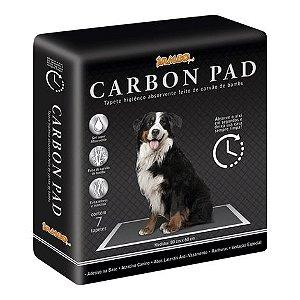 Tapete Higiênico Carbon Pad - Carvão de Bambu - 7un