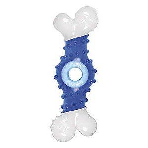 Mordedor Osso Super Chew Azul