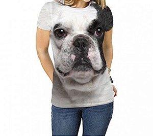 Camiseta Feminina - Bulldog Francês