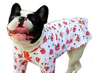 Pijama Camisola de Algodão