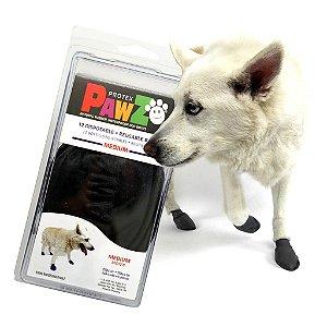 Pawz Preta - Botas para Cães - Tamanho Médio