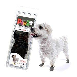 Pawz Preta - Botas para Cães - Tamanho XX Small (XX Pequena)