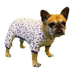 Pijama Macacão com 4 Patinhas