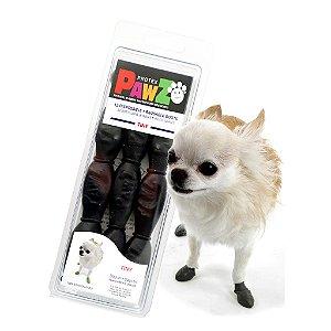 Pawz Preta - Botas para Cães - Tamanho Tiny (mini)