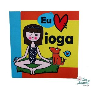 Quadrinho Decorativo - Ioga Dog