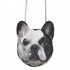 Bolsa Bulldog Francês - Alça de corrente