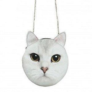 Bolsa Gato - Alça de corrente