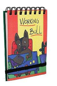 Bloquinho de Anotações Working Bull