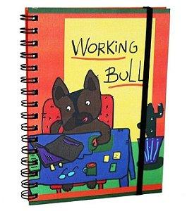 Caderno Espiral Working Bull