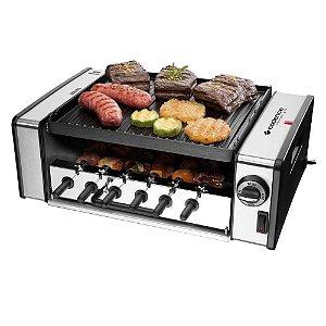 Churrasqueira Elétrica Cadence Automatic Grill GRL700 Inox