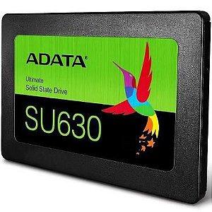 """Ssd Sata3 480 Gb Adata Su630 2.5"""", Lê: 520 Mb/S, Grava: 450 Mb/S, Asu630Ss-480Gq-R"""