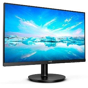 Monitor Led 21.5 Philips 221V8, 4Ms, 75Hz, Widescreen, Full Hd, Hdmi, Vga, Preto
