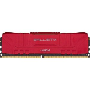 Memória Desktop Ddr4 8Gb/2666 Mhz Crucial Ballistix Red Bl8G26C16U4R, Cl 16