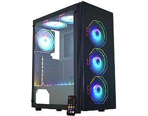 Pc Gamer Amd Ryzen 5600X, Asus B450M Gaming, Ssd Nvme 500 Kingston, Mem 16 Hyperx, Kmex 02Z5, Fonte 650 Gamemax, Rtx2060