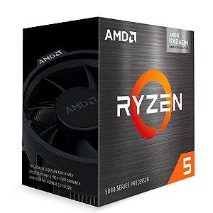 Processador Am4 Amd Ryzen 5 5600G, 3.9 Ghz, Max Turbo 4.4 Ghz, 16 Mb Cache, Com Vídeo Integrado