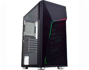 Pc Gamer Intel I3-10100F, Gigabyte H410M H, Ssd M2 250Gb Wd, Mem 8Gb Hyperx, Kmex 01C1, Fonte 550 Gigabyte, Rx550