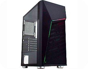 Pc Gamer Intel I3-10100F, Gigabyte H410M H, Ssd 240Gb Gigabyte, Mem 8Gb Hyperx, Kmex 01C1, Fonte 650 Gamemax, Gtx1660