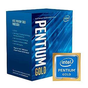 Processador 1151 Intel 8ª Geração Pentium Gold G5420, 3.8 Ghz, Cache 4Mb, Coffee Lake, Bx80684G5420