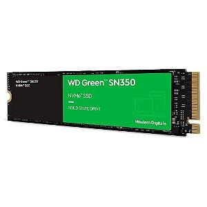Ssd Nvme 240 Gb Western Digital Sn350 Green, Lê: 2.400 Mb/S, Grava: 900 Mb/S, M2, Wds240G2G0C