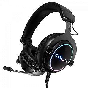 Headset Gamer Galax Sonar-01, Usb, 7.1, Preto, Rgb, Com Microfone, Gaming, Hgs015Usrgr0