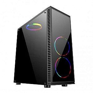 Pc Gamer Intel I5-10400, Gigabyte H410M, Nvme 500Gb Wd, Mem 8Gb Winmemory, Bluecase Bg014, Fonte 550 Corsair, Gtx1050Ti