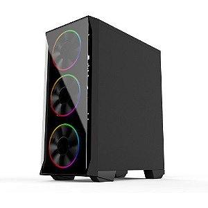 Pc Gamer Intel I3-10100F, Asus H510M, Ssd 240Gb Kingston, Mem 8Gb Winmemory, Bluecase Bg036, Fonte 450 Corsair, Gt1030