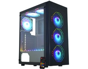 Pc Gamer Intel I3-10100F, Gigabyte Z590M, M2 120Gb Bluecase, Mem 16Gb Hyperx, Kmex 02Z5, Fonte 550 Corsair, Gtx1650