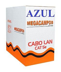 CABO DE REDE 300 MTS AZUL MEGACAMPOS