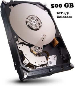 HD DESKTOP GB 500 SEAGATE 5900 RPM (KIT C/5 UNIDADES) GARANTIA: 90 DIAS TIB