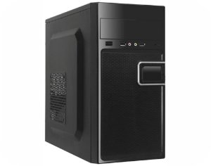 GABINETE KMEX GM-02T9 PRETO C/FONTE PX300 C/2*USB + AUDIO C/CABO MICRO ATX GARANTIA: 90 DIAS