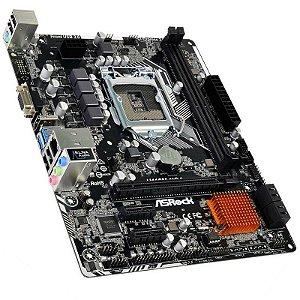 PLACA MAE 1151 ASROCK H110-HG4 (DDR4/HDMI/VGA/USB 3.0)