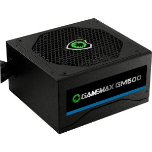 Fonte Atx 500 W Gamemax Gm500 Box 80 Plus Bronze C/Pfc S/Cabo Preto/Branco