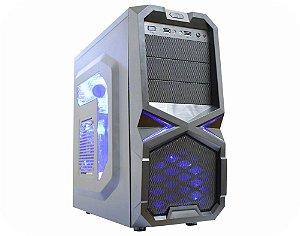 GABINETE GAMER SAMURAI CG-16T3 PRETO C/ 2 USB*2.0 C/ HD AUDIO SEM FONTE KMEX GARANTIA: 90 DIAS