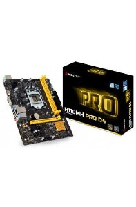 PLACA MAE 1151 BIOSTAR H110MH PRO DDR4 SOM/VIDEO/REDE/HDMI/USB3.0 GARANTIA: 90 DIAS TIB