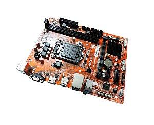 PLACA MAE 1151 PCWARE IPMH110G DDR3 1600MHZ / HDMI / VGA 4X USB 3.0 / PC-I GARANTIA: 90 DIAS
