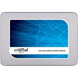 SSD 120 GB CRUCIAL BX300 SATA 2,5 POLEGADAS 7MM C/ADAPTADOR DE 9,5MM GARANTIA: 90 DIAS