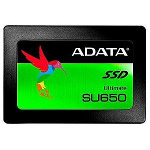 SSD 240 GB ADATA SU650 SATA III 2.5 POLEGADAS GARANTIA: 90 DIAS