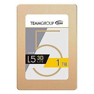 """SSD 1 TB Team Group L5 Lite 3D SATA III 2,5"""" GARANTIA: 90 DIAS"""