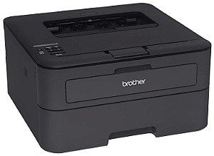 Impressora Laser Brother Hl-L2320D Monocromática Duplex Preta 30ppm Ciclo 10.000 pág. 110 V