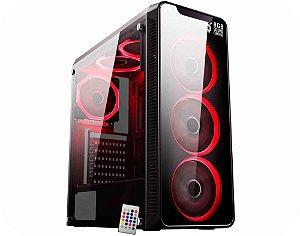 COMPUTADOR GAMER TIBURON INTEL I7-8700, MEMORIA 8GB, SSD 960GB, PLACA MAE 8ª GER, VGA 6 GB, GAB. GAMER KMEX, FONTE 750W