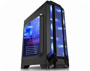 COMPUTADOR GAMER TIBURON INTEL I7-8700, MEMORIA 16GB, SSD 960GB, PLACA MAE 8ª GER, VGA 6 GB, GAB. GAMER KMEX, FONTE 750W