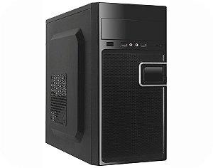 COMPUTADOR CORPORATIVO TIBURON PLACA MAE INTEGRADA COM PROCESSADOR, MEMORIA 4GB, SSD 120GB, GAB. KMEX