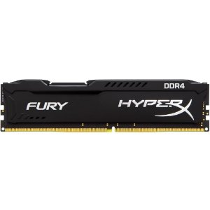 Memoria Desktop Ddr4 4Gb/2666 Mhz Kingston Hyperx Fury Gamer Black Hx426C15Fb/4
