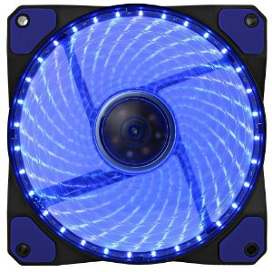 Cooler Fan Azul Gamemax Gf12B 12X12X2.5 Cm 32 Leds