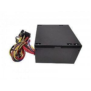 Fonte Atx 500 W Bluecase Blu500-E ATX Com Cabo Com Caixa