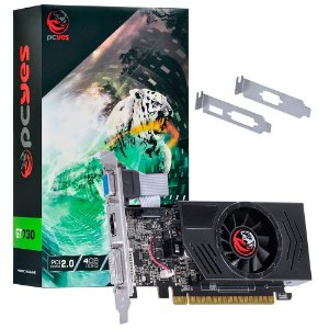 Placa De Video Ddr3 4Gb/128 Bits Nvidia Pcyes Geforce Gt 730 Pa730Gt12804D3