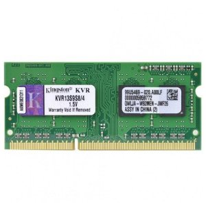 Memoria Notebook Ddr3 4Gb/1333 Mhz Kingston Kvr13S9S8/4