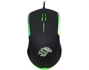 Mouse Usb Pc Gamer Kmex Mo-Y233 Elite Leds De 3 Cores